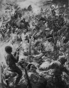 The battle of Adwa, when Ethiopians defeated Italians
