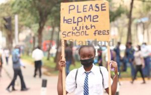 15-year-old Form Two student begs for school fees in city streets
